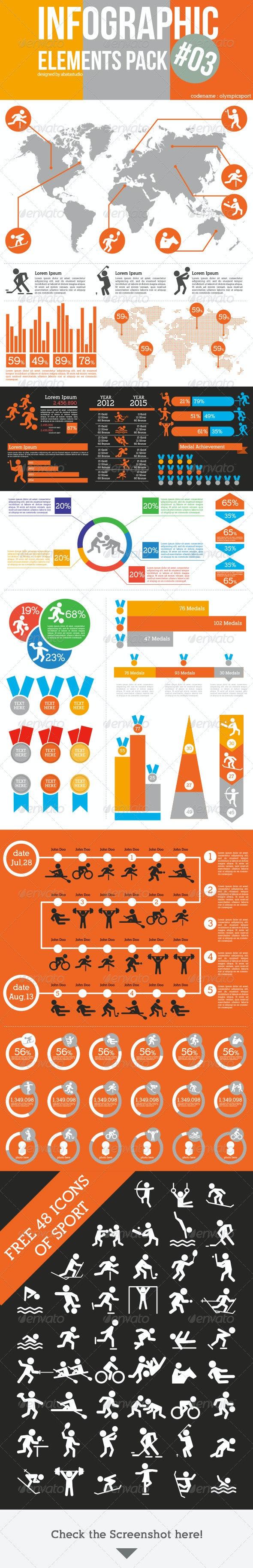 Infographic Elements Pack 03 - Miscellaneous Vectors