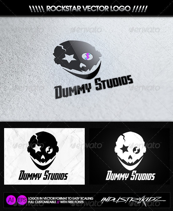 Dummy Studios Logo - Objects Logo Templates