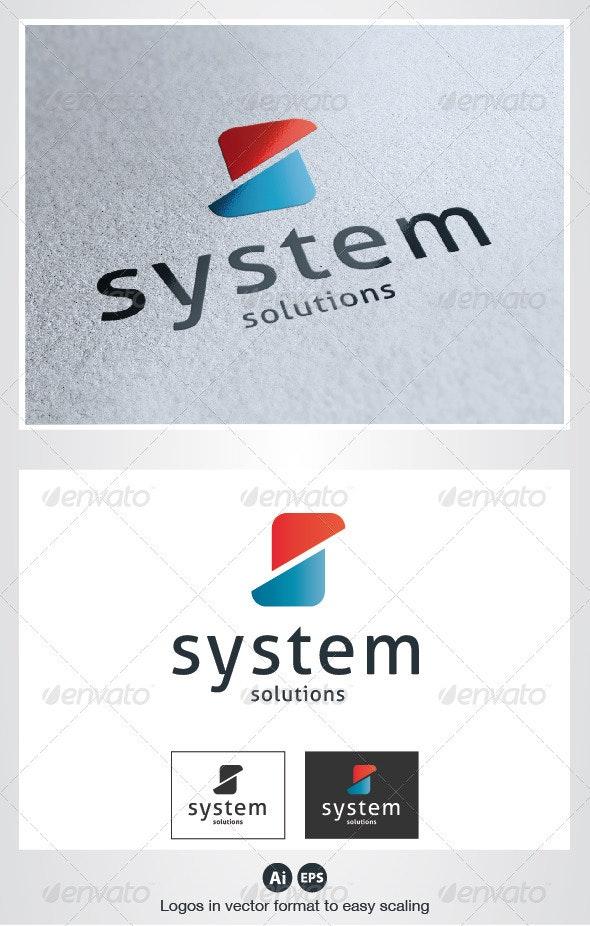 System S Letter Logo - Letters Logo Templates
