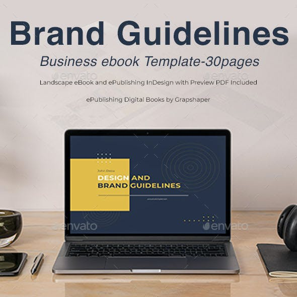 Brand Guidelines ebook Template