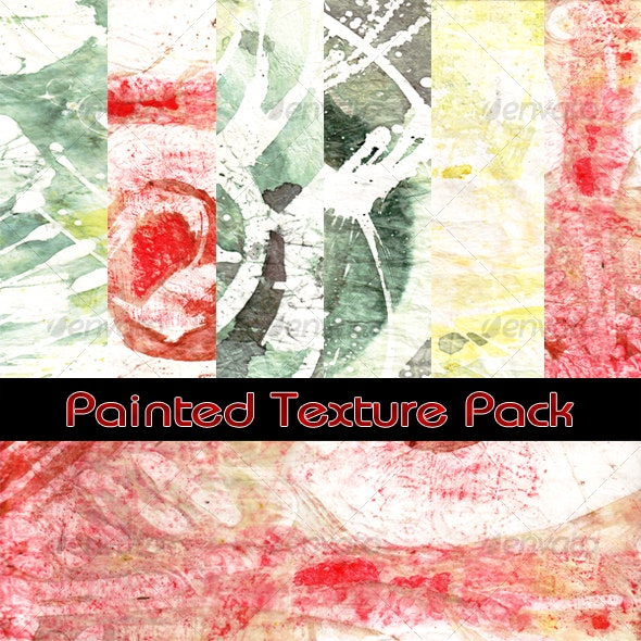 Painted Texture Pack - Art Textures