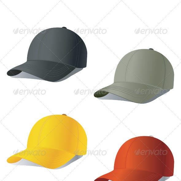 Set of baseball cap