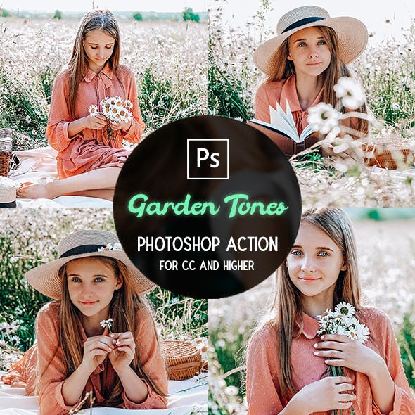 Garden Tones - Photoshop Action