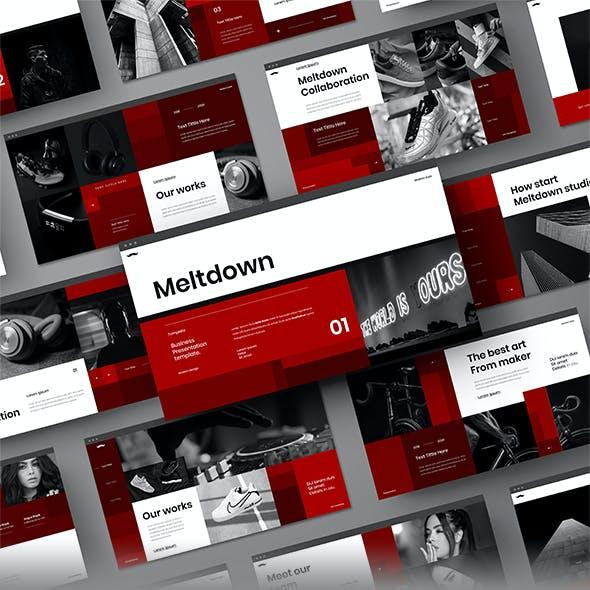 Meltdown – Business PowerPoint Template