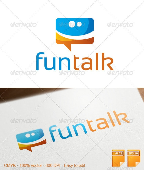Funtalk Logo - Abstract Logo Templates