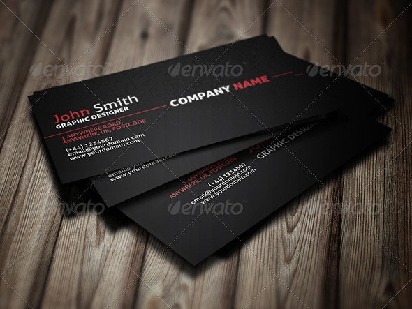Modern Simple Business Card - Corporate Business Cards