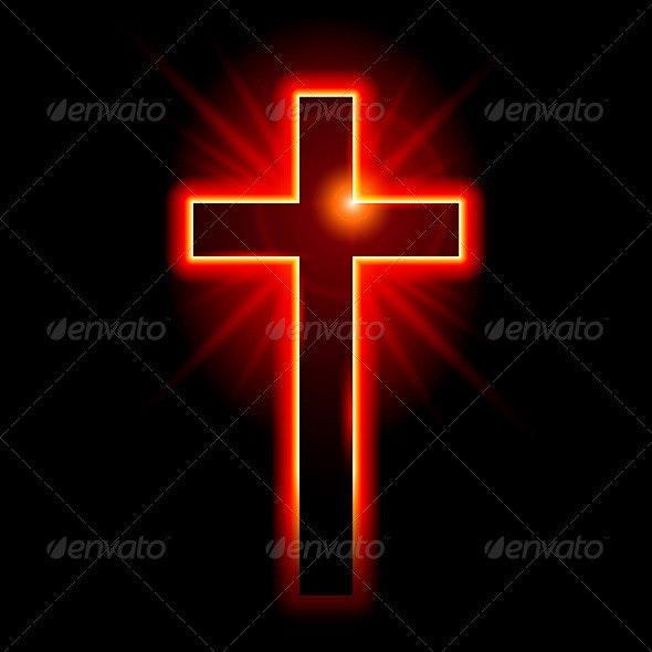Christian symbol of the crucifix - Christmas Seasons/Holidays