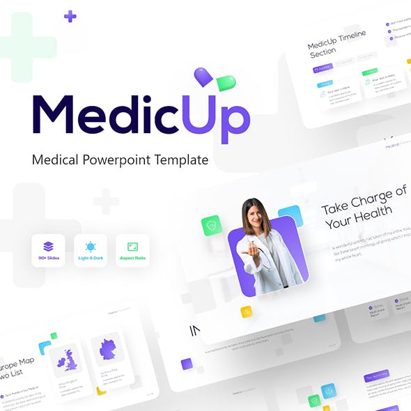 MedicUp Healthcare PowerPoint Template
