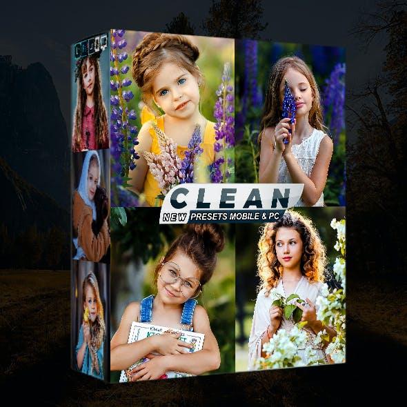 Clean Portrait Presets Mobile & Desktop