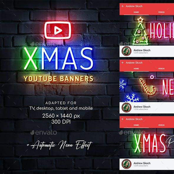 Christmas Neon YouTube
