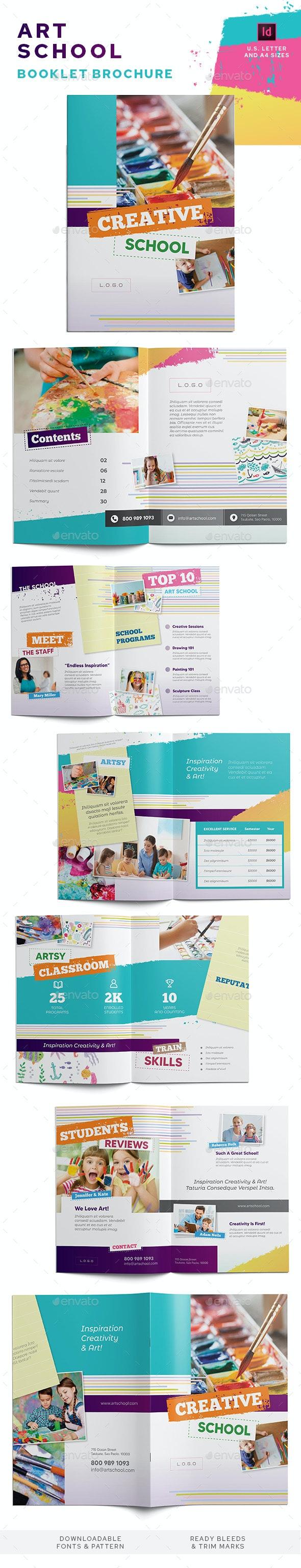 Art School Information Booklet - Informational Brochures