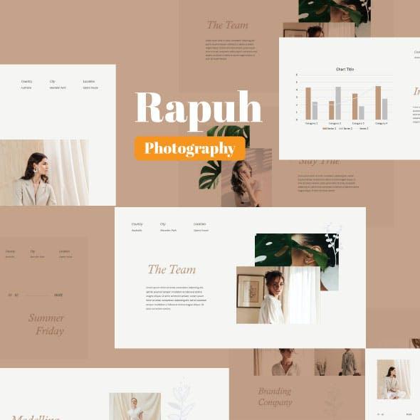 Rapuh - Fashion Google Slide Template