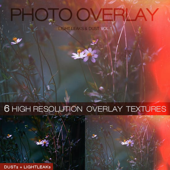 6 High Quality Overlay Textures Vol.1