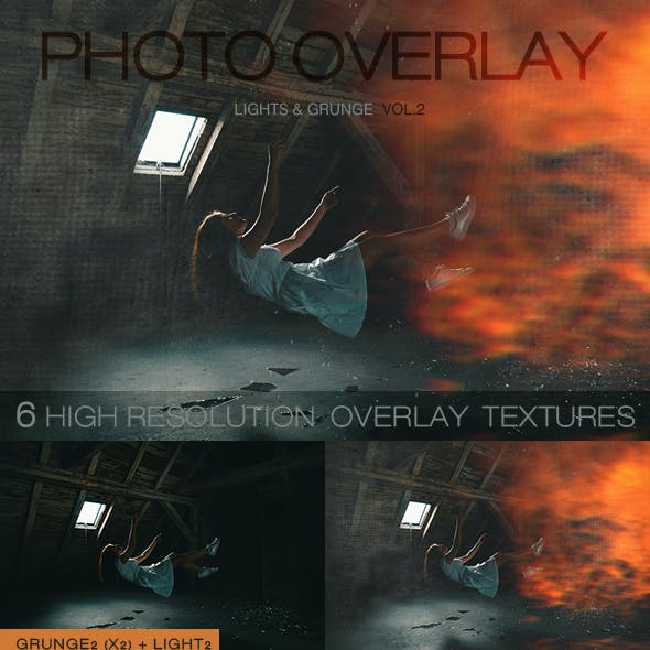 6 High Quality Overlay Textures Vol.2