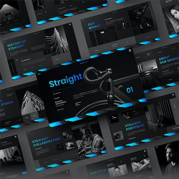 Straight – Business Google Slides Template