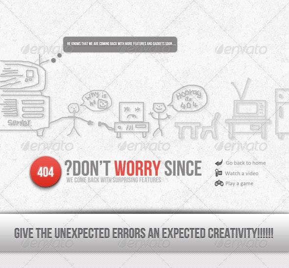 404.. Hooooooooraaayyyy........... Wooow - 404 Pages Web Elements