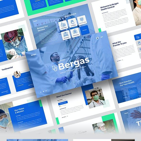 Bergas – Medical & Healthcare Google Slides Template