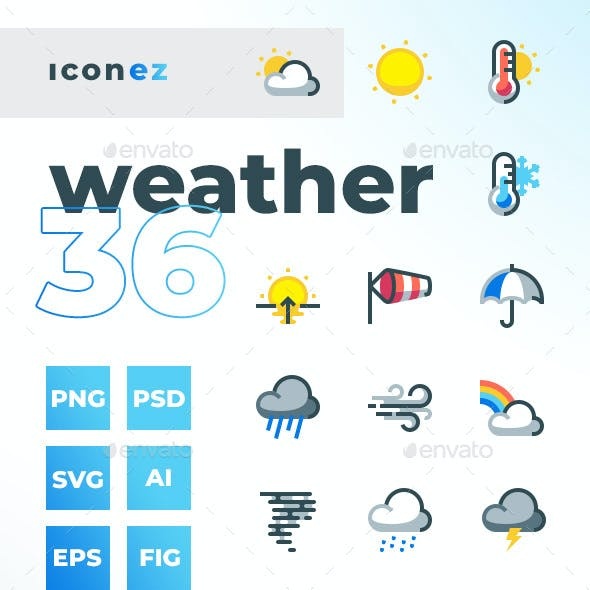 Iconez - Weather Icons