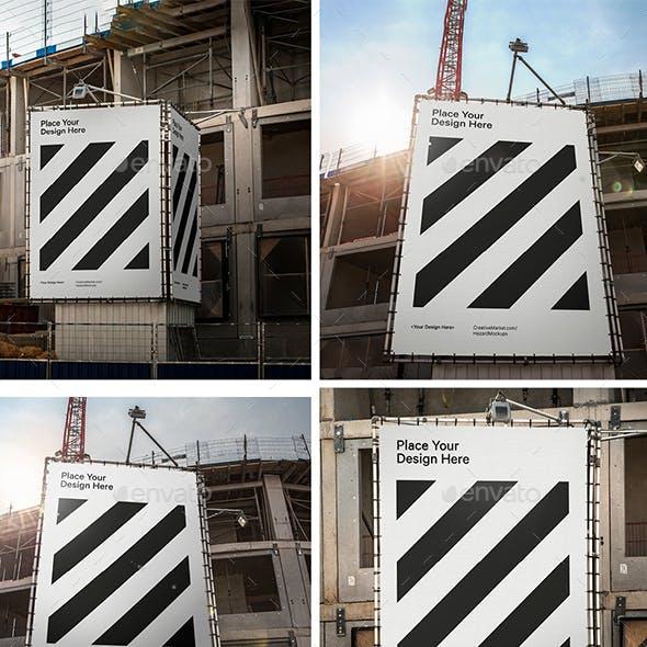 4x Construction Mockup