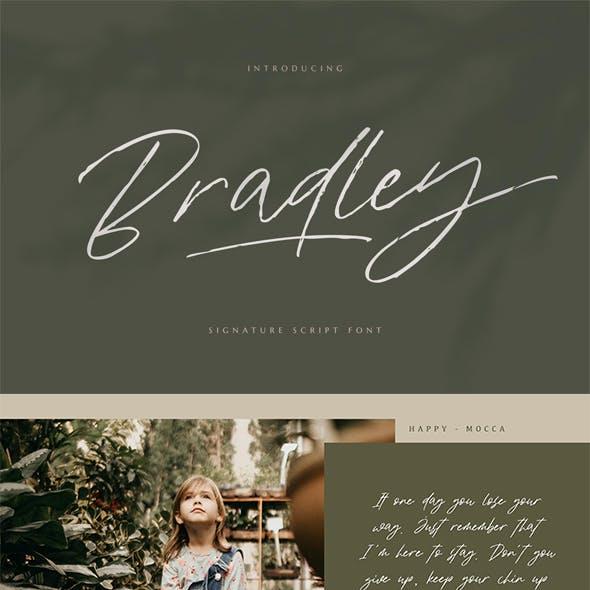 Bradley Signature Script Font