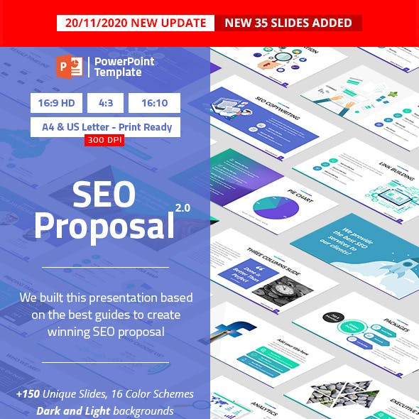 SEO Proposal PowerPoint Presentation Template