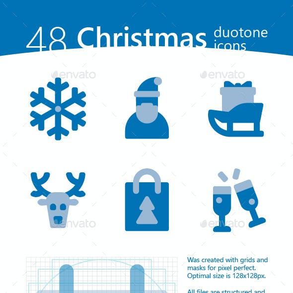 Christmas Duotone