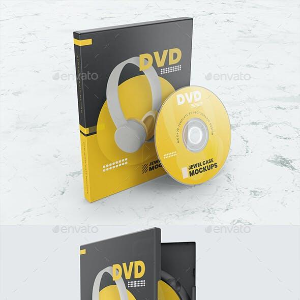 CD DVD Case Mockups