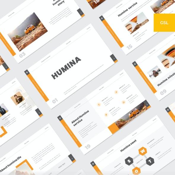 Humina - Business Google Slides Template