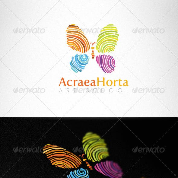 Art School Handmade Creative Logo Template