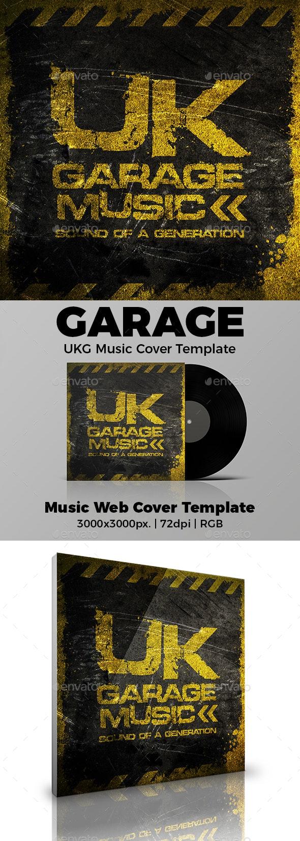 UK Garage UKG Music Cover Template - Miscellaneous Social Media