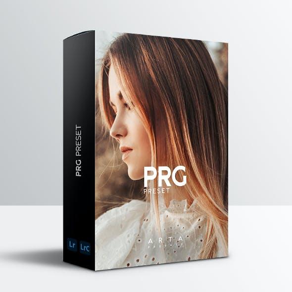 ARTA PRG Preset For Mobile and Desktop Lightroom