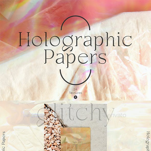 Holographic Papers Textures