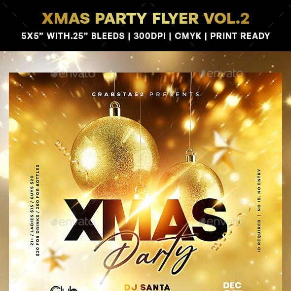 Xmas Party Flyer Vol.2