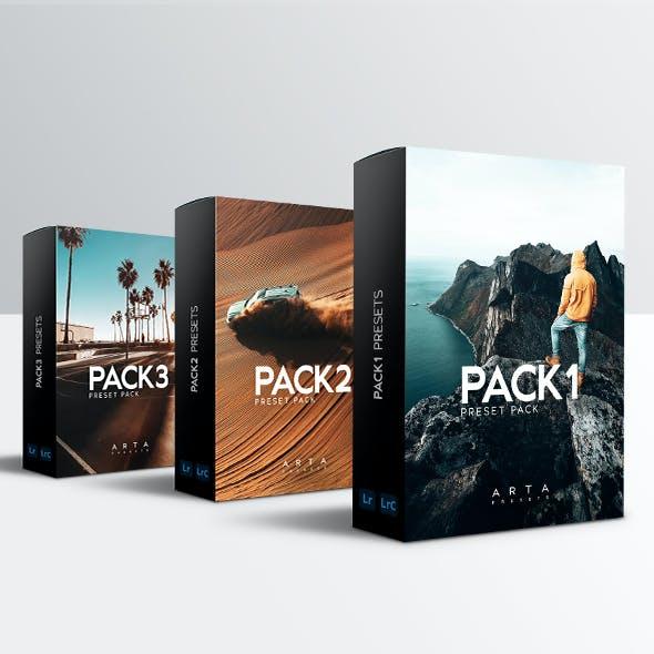 ARTA Pack Collection For Mobile and Desktop Lightroom