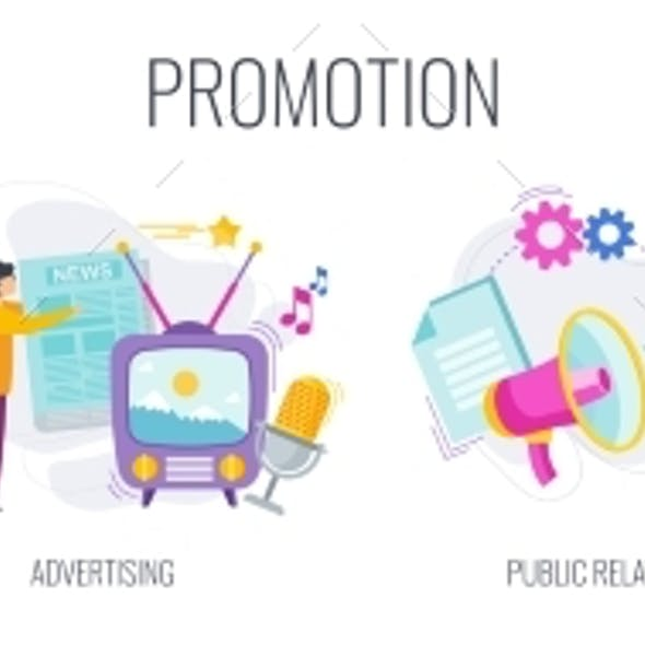 Promoters Advertise a Company or Product To a