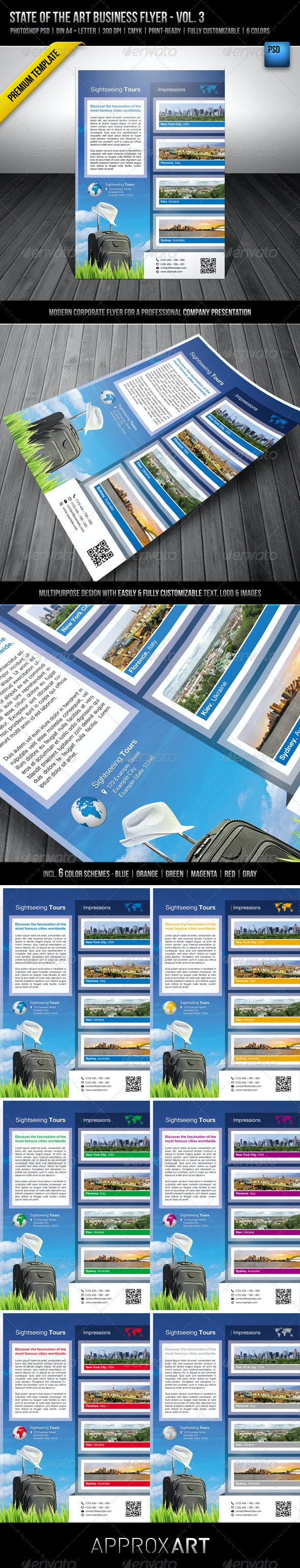 State of the Art Business Flyer - Vol. 3 - Corporate Flyers