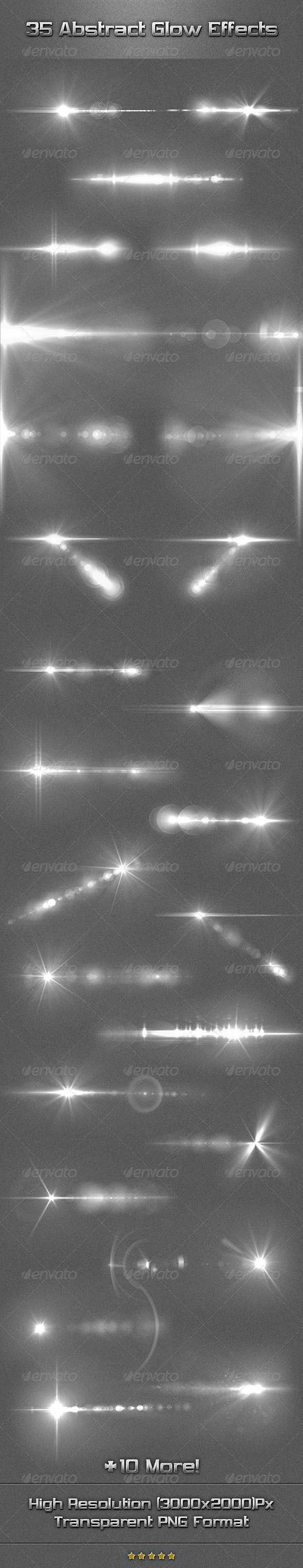 35 Abstract Glow Effects - Miscellaneous Graphics