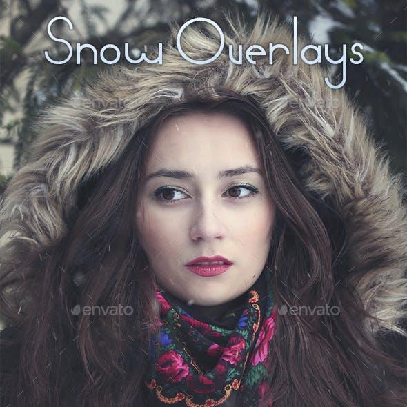 15 Snow Overlays
