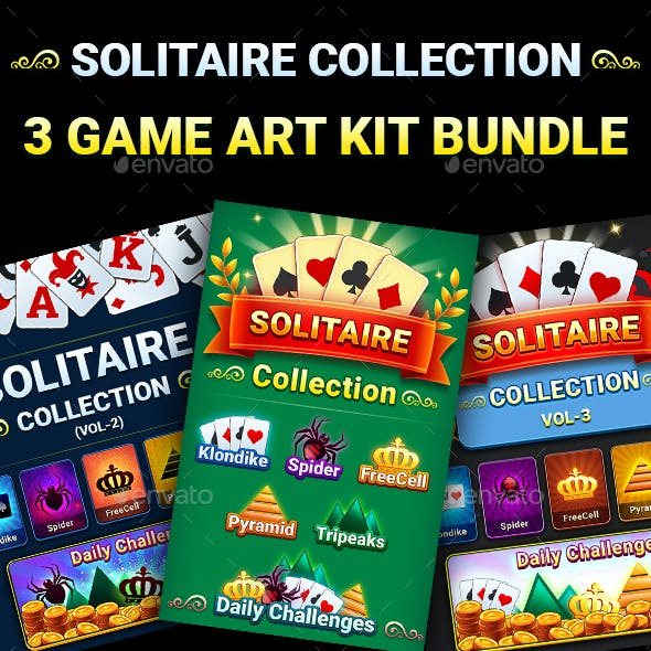 Solitaire Collection (3 Game Kit Bundle)