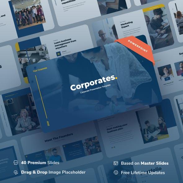 Corporates - Corporate Power Point Presentation