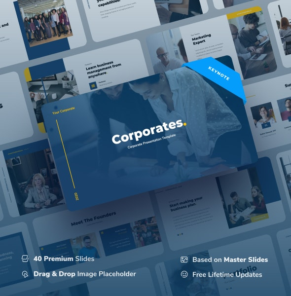 Corporates - Corporate Keynote Presentation - Business Keynote Templates