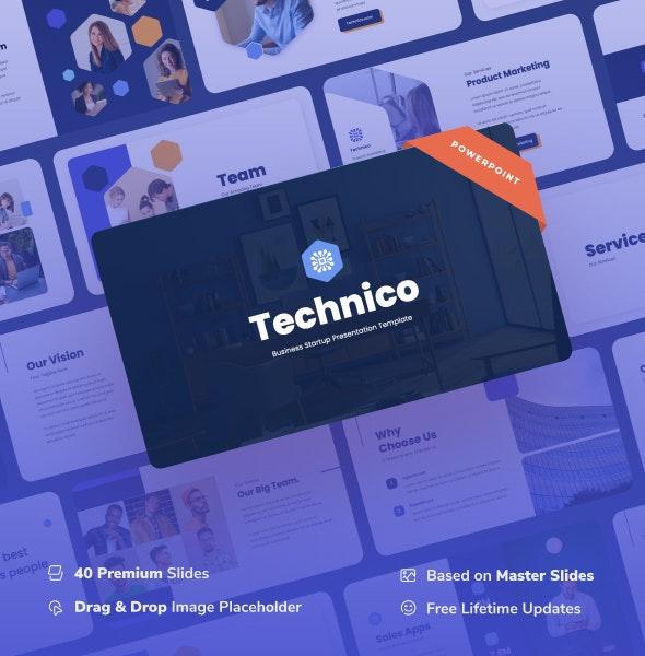 Technico - IT & Tech Power Point Presentation - Business PowerPoint Templates