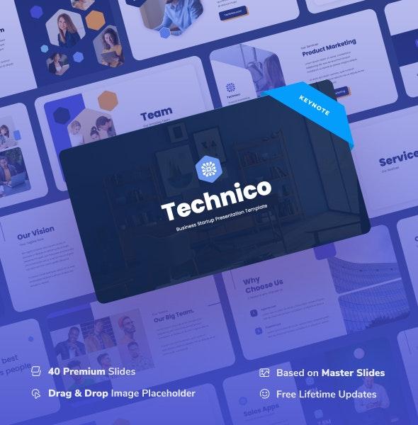 Technico - IT & Tech Keynote Presentation - Business Keynote Templates