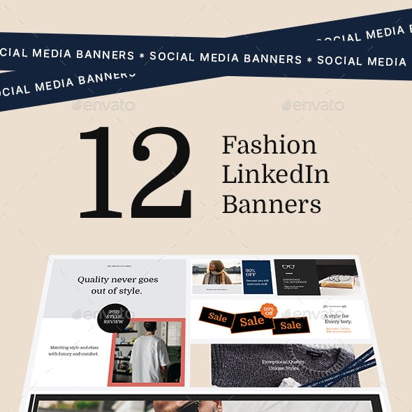 Fashion LinkedIn Banners