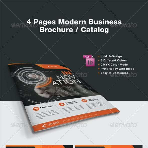 Modern Business Brochure / Catalog
