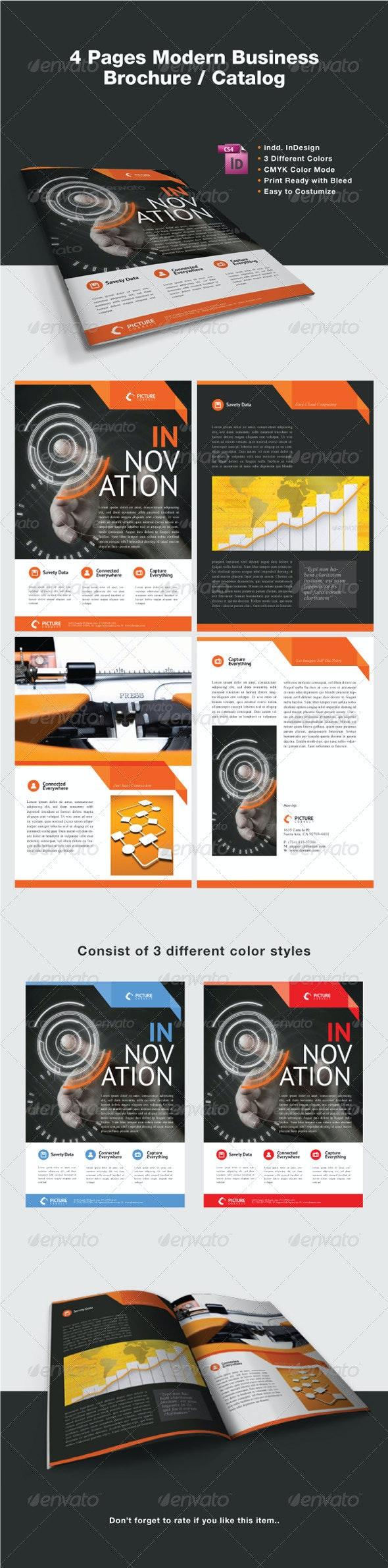 Modern Business Brochure / Catalog - Corporate Brochures