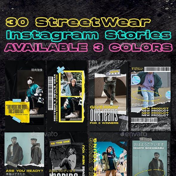30 Japanese Streetwear Instagram Stories