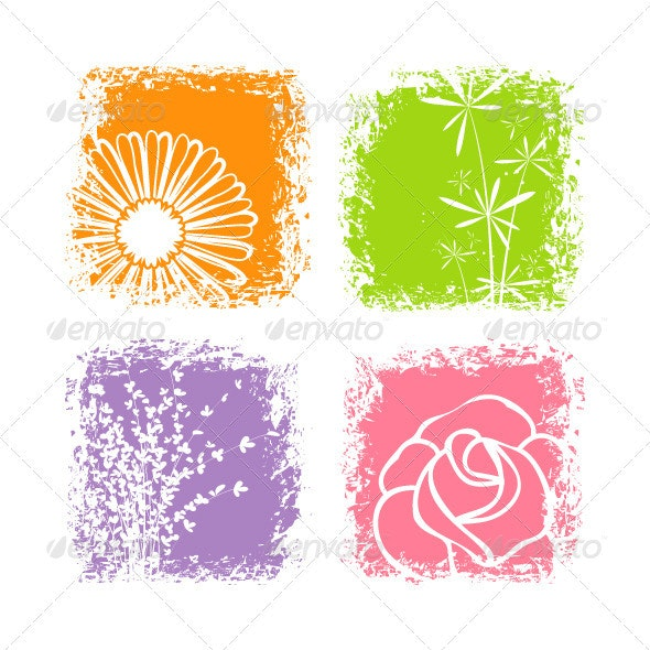 Colorful flower - Flowers & Plants Nature