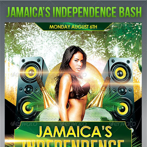 Jamaica's Independence Day flyer