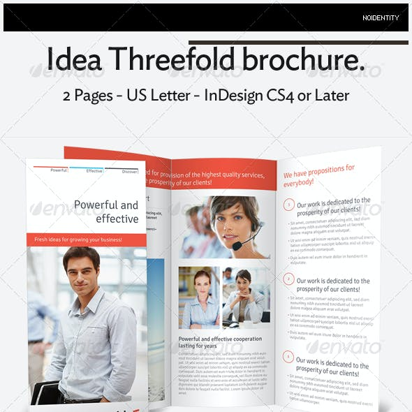 Idea Threefold Brochure